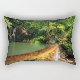 Thermal pool in Azores Rectangular Pillow