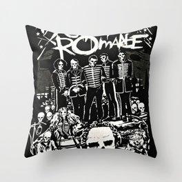 MyChemical Romance Throw Pillow