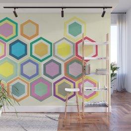 Honeycomb Layers II Wall Mural
