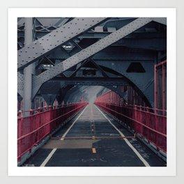 Williamsburg Bridge #1 Art Print