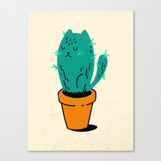 Cat-tus Canvas Print