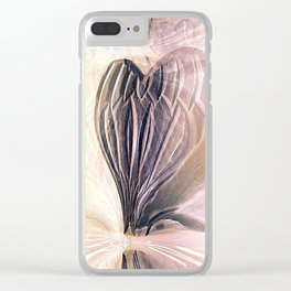 Angel Heart Clear iPhone Case