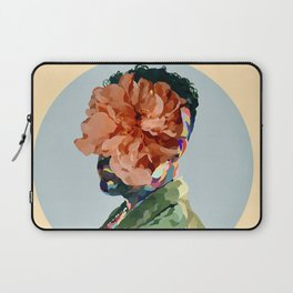 Bad Bunny Floral Flower Abstract Musician Laptop Sleeve