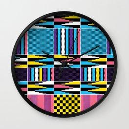 Kente design Wall Clock
