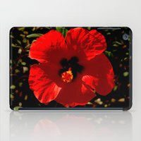 hibiscus iPad Cases featuring Hibiscus by Armine Nersisian