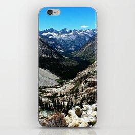 Sierra Nevada Mountain Landscape iPhone Skin