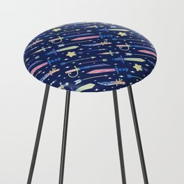 Magical Weapons Counter Stool