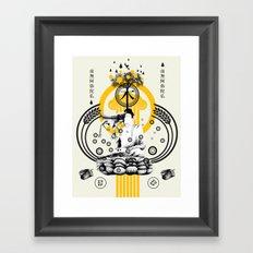 ki hamurai Framed Art Print