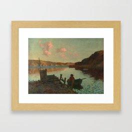Evans Bay - James M. Nairn Framed Art Print