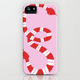 Double Trouble Snake iPhone Case