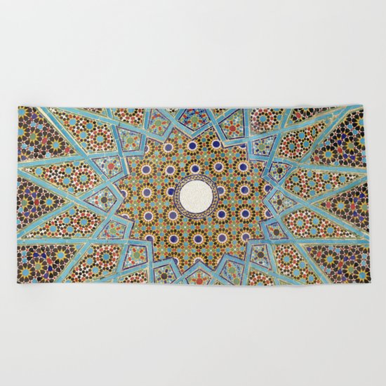 Mandala Pattern 2 Beach Towel