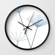 Blätter des Himmels Wall Clock