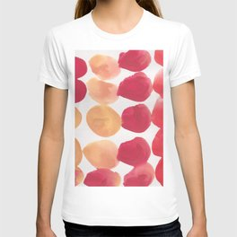 7  | 190408 Red Abstract Watercolour T-shirt