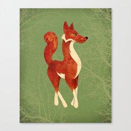 Foxing Around Canvas Print