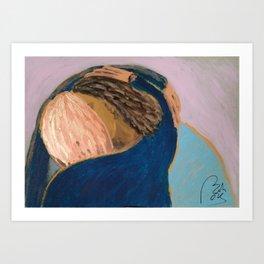 Bachmors Embrace II Art Print