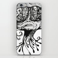 fear and loathing iPhone & iPod Skins featuring Fear & Loathing by Saravo Studio