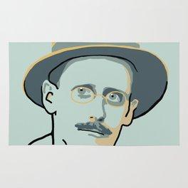 James Joyce Rug