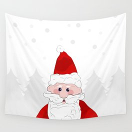 Father Christmas Wall Tapestry