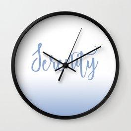 Serenity Mood Wall Clock