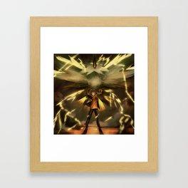 Spark//TEAM INSTINCT Framed Art Print
