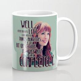 Obsessed - Charlie Bradbury Supernatural Coffee Mug
