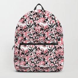 Floral Wash Pattern Backpack