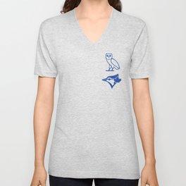 Blue Jay - Away Blue Unisex V-Neck