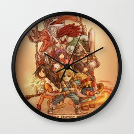 Final Fantasy IX Wall Clock