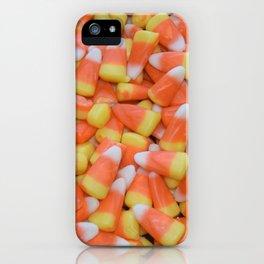 Candy corn   Candy   Halloween Decor   Happy Halloween iPhone Case