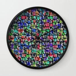 Vintage Colors Intrinsic Wall Clock