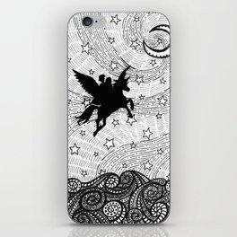 Flight of the alicorn iPhone Skin