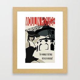 Spectacle Du Burlesque! Framed Art Print