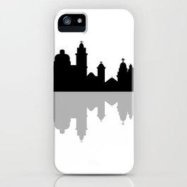 skyline of rio de janeiro iPhone Case