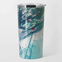 Variations in blue 3 Travel Mug