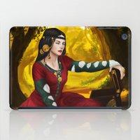 fullmetal alchemist iPad Cases featuring Alchemist daughter by Ale Caballero
