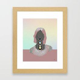Inside you. Framed Art Print