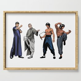 Kung Fu Legends Serving Tray