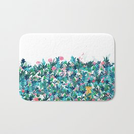 Fox's Garden Bath Mat