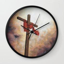 Cross of Hope Wall Clock