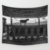 goat Wall Tapestries featuring Goat by Frankpeti