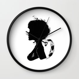 Birdie Silhouette Wall Clock