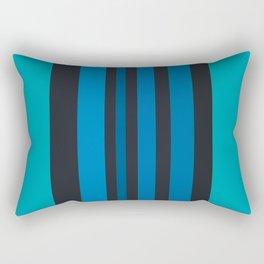 blue & blue again Rectangular Pillow
