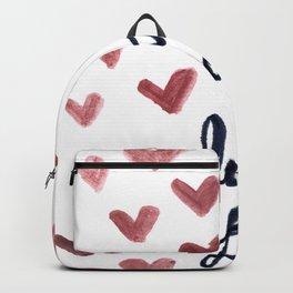 I Fucking Love You Backpack