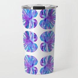 Monsteria Pattern Travel Mug