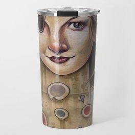 PIRATE ROBOT MERMAID Travel Mug
