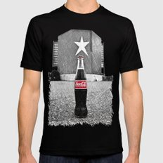 Drive-in cola Mens Fitted Tee Black MEDIUM