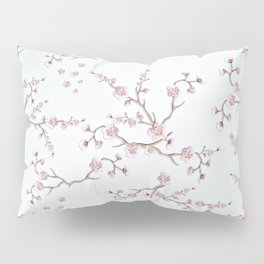SAKURA LOVE - GRUNGE WHITE Pillow Sham