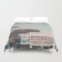 tickets please ... Duvet Cover