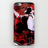 boxing iPhone & iPod Skins featuring Boxing MJ by Genco Demirer
