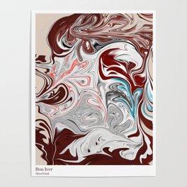 Blood Bank - Bon Iver Poster